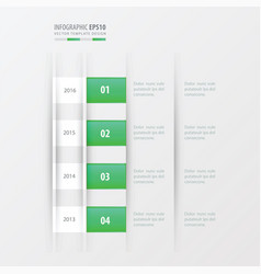 Timeline design design green gradient color vector