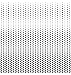 Halftone Dots Pattern Gradient Background vector image