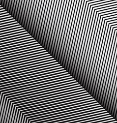 Diagonal oblique edgy zigzag lines pattern in vector