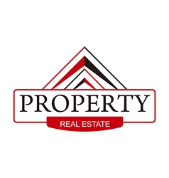 real estate property home building symbol vector image