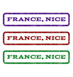 France nice watermark stamp vector