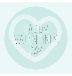 Simple decorative pattern happy valentines day vector