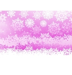 Winter background with snowflakes eps 8 vector