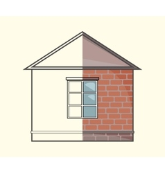 Cottage project vector