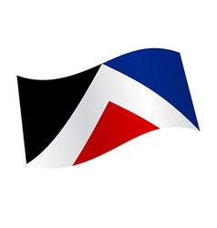 New zealand flag variation vector