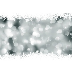Elegant background with snowflakes eps 8 vector