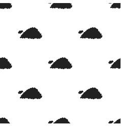 cloud icon in black style isolated on white vector image vector image