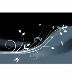 floral background meadow garden vector image vector image