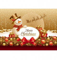 Christmas illustration vector