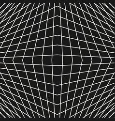 3d grid seamless pattern modern dark background vector image