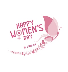 8 march happy womens day vector