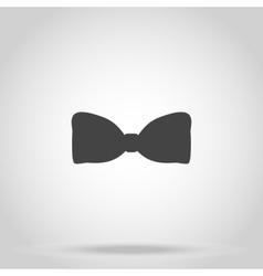 Bow iconon white background vector