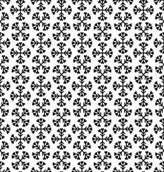 christmas black and white seamless vector image