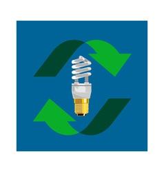 Energy saver bulb vector