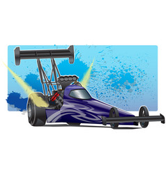 TopFuelDragster vector image