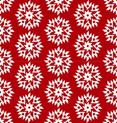 christmas red seamless vector image