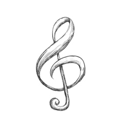 Music note icon music and sound concept vector