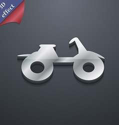Atv icon symbol 3d style trendy modern design with vector