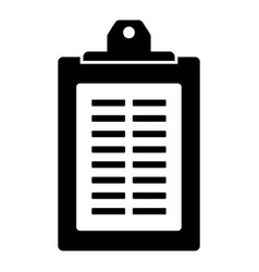business checklist icon image vector image
