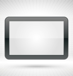 white clean frame vector image vector image