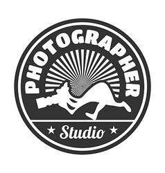 Photographer studio vector