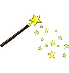 wand vector image