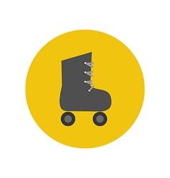 Roller skate icon vector