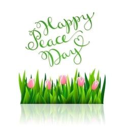 International peace day vector