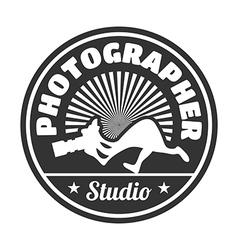 photographer studio vector image