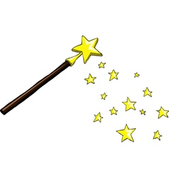 wand vector image vector image