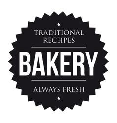 Bakery vintage black stamp vector