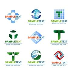 Design elements for logo vector