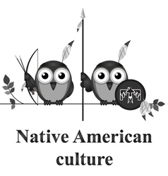Native american culture vector