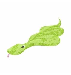 Snake icon cartoon style vector image vector image