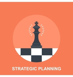 Strategic planing vector