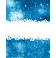 Blue christmas background eps 8 vector