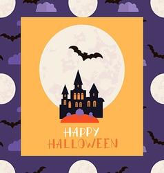 Halloween card2 vector