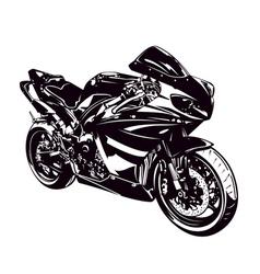 Sport motorbike vector image vector image