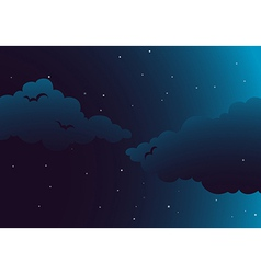 A peaceful night vector