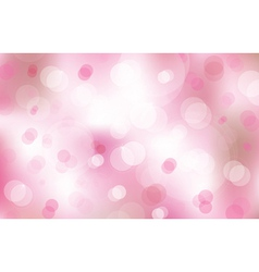 lights on pink background vector image