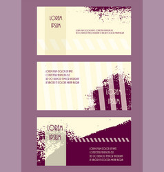 abstract brochure headpage templates flyer grunge vector image vector image