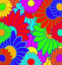 Bright colors vector image vector image