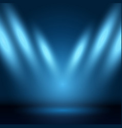 display background with spotlights vector image vector image