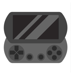 Game console joystick vector image vector image
