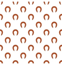Sausage pattern cartoon style vector