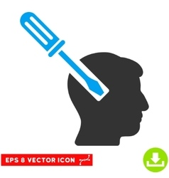 Head screwdriver tuning eps icon vector