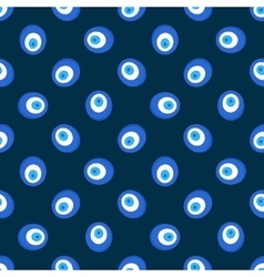 Evil eye pattern vector