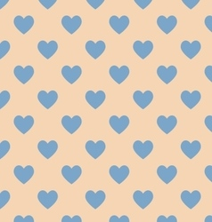 Seamless polka dot brown pattern vector