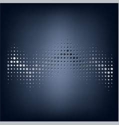 Abstract staved dotted background vector