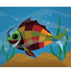 COLOR FISH vector image